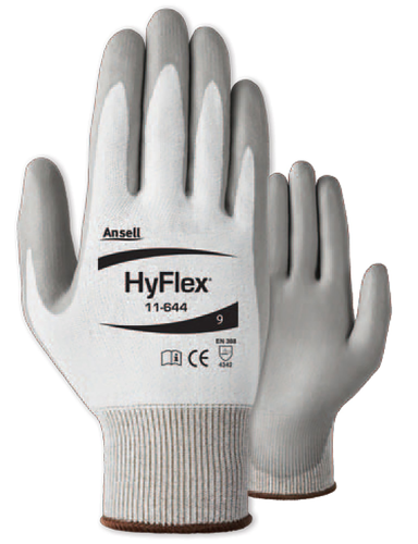 HyFlex Foam Nitrile Palm Coated Gloves - ANSI Cut Level 2